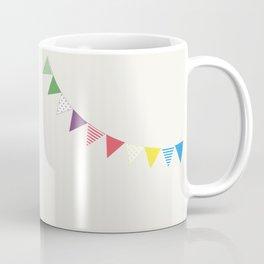 Flag garland Coffee Mug