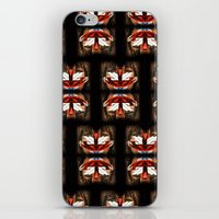 givenchy iPhone & iPod Skins featuring Givenchy mask by cvrcak
