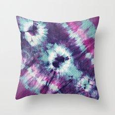 Tie-Dye III Throw Pillow