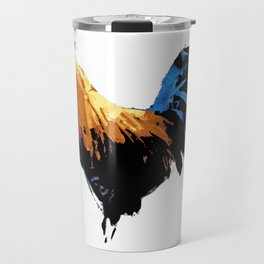 Rooster wall art decorative Travel Mug