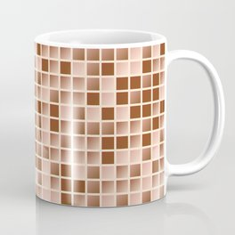 Micro squares pattern Coffee Mug