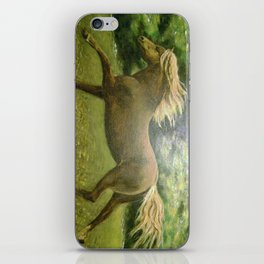 Lonely Gallop iPhone Skin