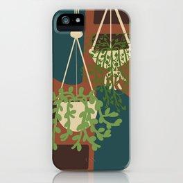 Macrame Plants iPhone Case