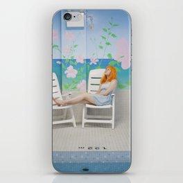 holly as me (indoor pool) iPhone Skin