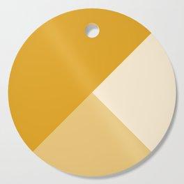 Mustard Tones Cutting Board
