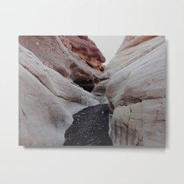 Mosaic Canyon Metal Print