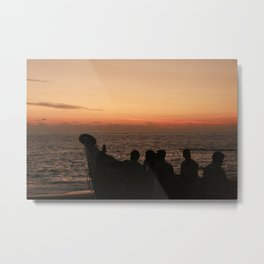 Off to sea Metal Print