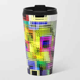 Cubism interdimensional. Travel Mug