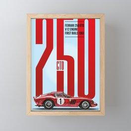 250GTO Tribute Framed Mini Art Print