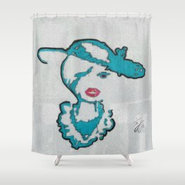 A WATCHNIGHT DIVINE Shower Curtain