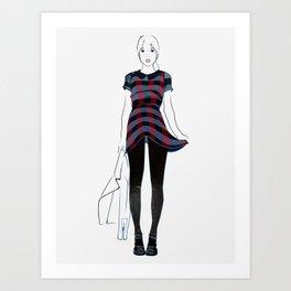 Dressed to Kill  Art Print