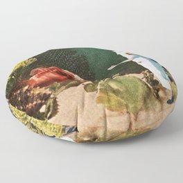 Under the Sea // Seahorses Floor Pillow