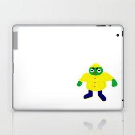 Frog in a Raincoat Laptop & iPad Skin