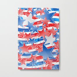 Artistic LXXXVI - Americana Metal Print
