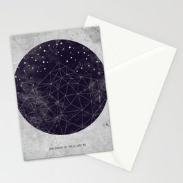 Geo Mountain Stationery Cards