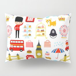 Enjoy London! Pillow Sham