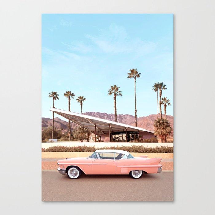 Palm Springs Leinwanddruck