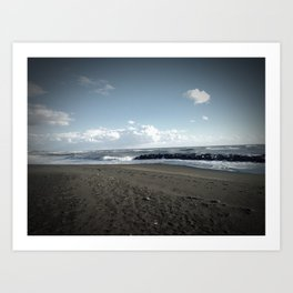 Another Day on the Beach Art Print
