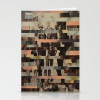 beastie boys Stationery Cards featuring The Boys by Claire Elizabeth Stringer