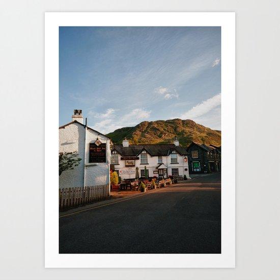 Coniston Village Art Print