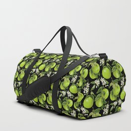 Blooming pomelo with fruits Duffle Bag