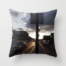 median Throw Pillow