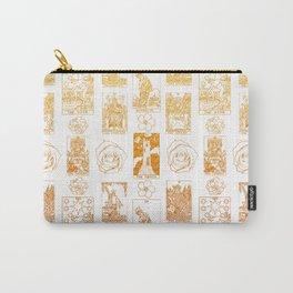 Beautiful Golden Tarot Card Print Carry-All Pouch
