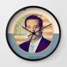 Ted Cruz 2016 Wall Clock