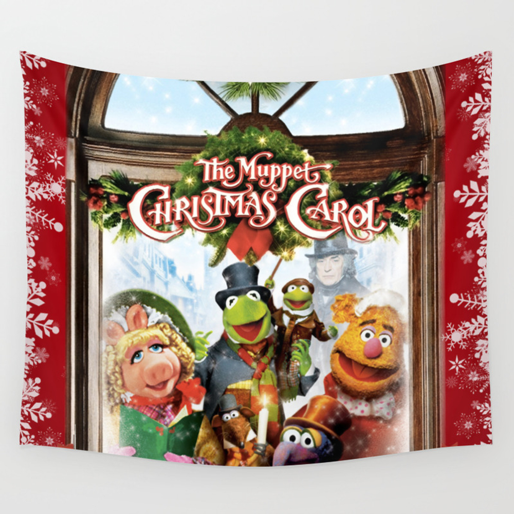 The Muppet Christmas Carol Wall Tapestry by Emdavis27 TPS7821293