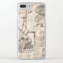 Piranha blueprint vehicle Clear iPhone Case