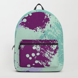 Mint viole strokes Backpack