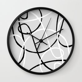 Laced up 1 Wall Clock