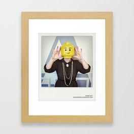 Minifig me ! – Everyone has a LEGO piece inside - 15 Framed Art Print