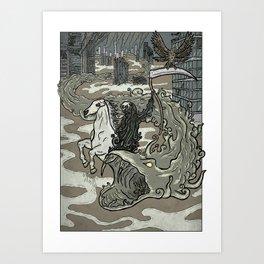 Widespread Death on Earth Art Print