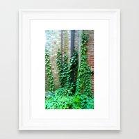 climbing Framed Art Prints featuring Climbing by Ellan Kosatka