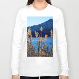 At the Foot of a Giant Long Sleeve T-shirt