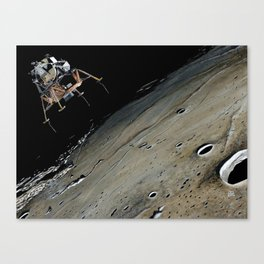 Go for landing Canvas Print