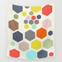 Honeycombs Wall Tapestry