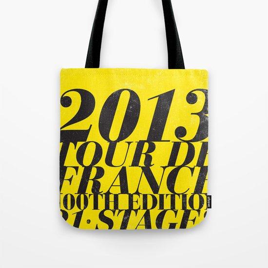 2013 Tour de France: Maillot Jaune Tote Bag
