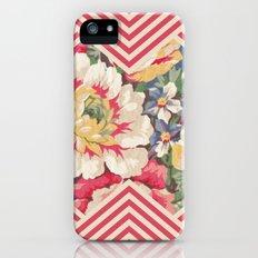 Floral Chevron iPhone (5, 5s) Slim Case