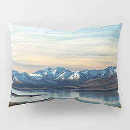 If Nobody Speaks // Landscape Mountains Photography Pillow Sham