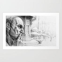 Man From Sarajevo Art Print