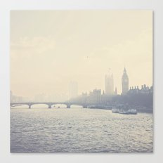 the city of London ... Canvas Print