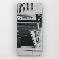 The Legends Corner iPhone & iPod Skin