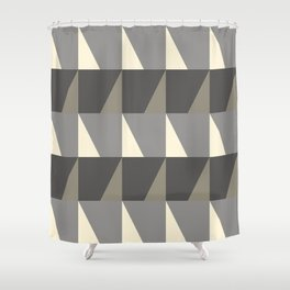 Cosy Concrete Shower Curtain