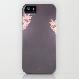 Pink Hyacinths iPhone Case