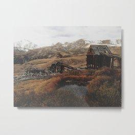 Mountain Mill Metal Print