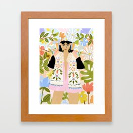 I Want To See The Beauty In The World Framed Art Print