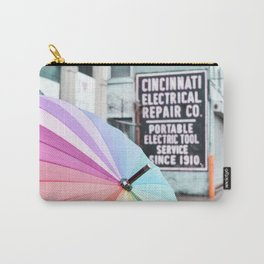 Umbrella Street Carry-All Pouch