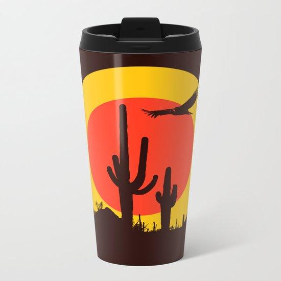 vulture song Metal Travel Mug
